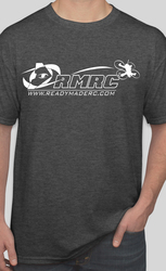 RMRC Logo T-Shirt - Dark Heather Gray Large