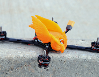 STRIX Screech-R Owl Jolson Racing Pod - Orange