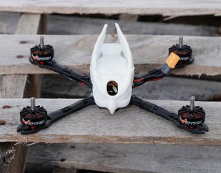 STRIX Screech-R Owl Jolson Racing Pod - White