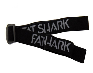 FatShark Black Headstrap with new FatShark Logo