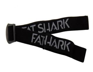 FatShark Black Headstrap with new FatShark Logo