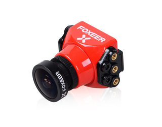 Foxeer Arrow Mini Pro FPV Cam w/OSD 1.8mm Lens Red