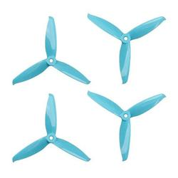 Gemfan Flash 3 Blade Blue Props 5152