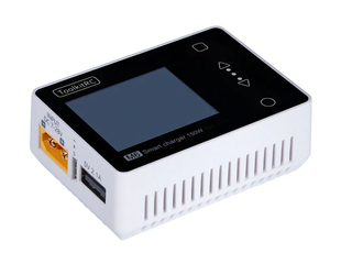 ToolKitRC M6 150W 10A 1-6s Micro Battery Charger - White