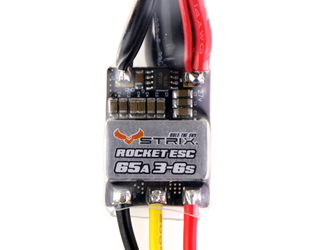 STRIX Rocket 65A 3-6s Blheli-S Opto ESC for Airplanes