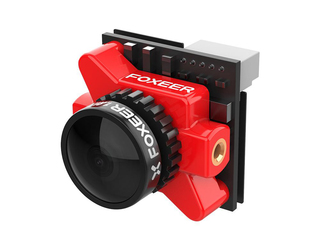 Foxeer Falkor Micro FPV Cam 1.8mm Lens Red