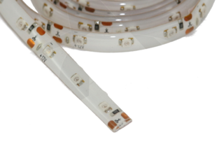 RMRC Waterproof LED Strip with Adhesive Backing - White 1M