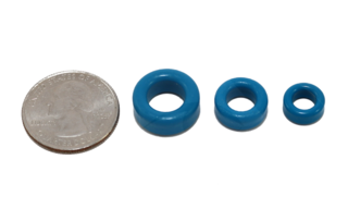 Toroid Ring - 12.5mm OD Ferrite - for RF Noise Suppression