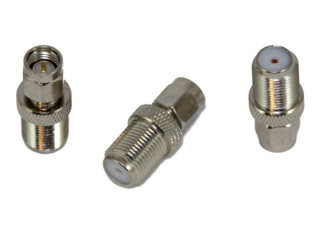 F-Female to SMA Male Adapter