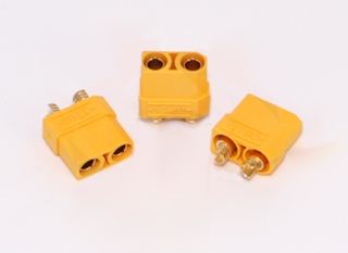 XT90 Connector - Female (Male Housing, Female Bullet)