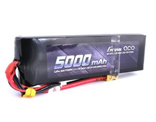 Gens Ace 11.1V 50C 3S 5000mAh Lipo Pack with XT60