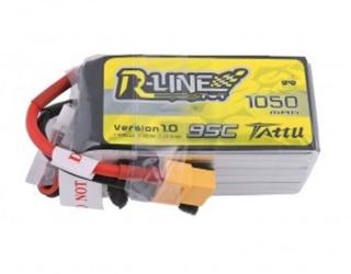Tattu R-Line 1050mAh 95C 6S1P Lipo Pack with XT60