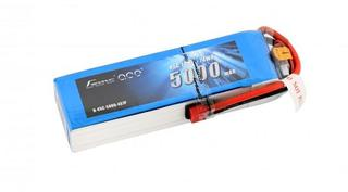 Gens Ace 5000mAh 14.8V 45C 4S1P Lipo Battery Pack with Deans