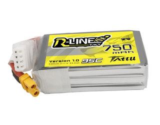 Tattu R-Line 750mAh 11.1V 95C 3S1P Lipo - XT30