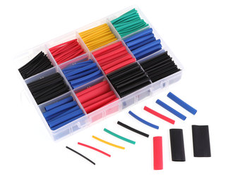 RMRC Heat Shrink Tube Kit with Case - Over 500 Pieces!