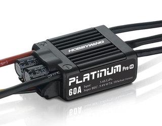 HobbyWing Platinum Pro 60A V4 ESC with BEC