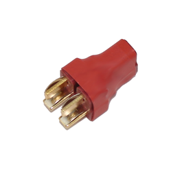 Deans Parallel Adapter, 2 Male to 1 Female