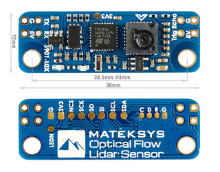 Matek Optical Flow & LIDAR Sensor 3901-L0X