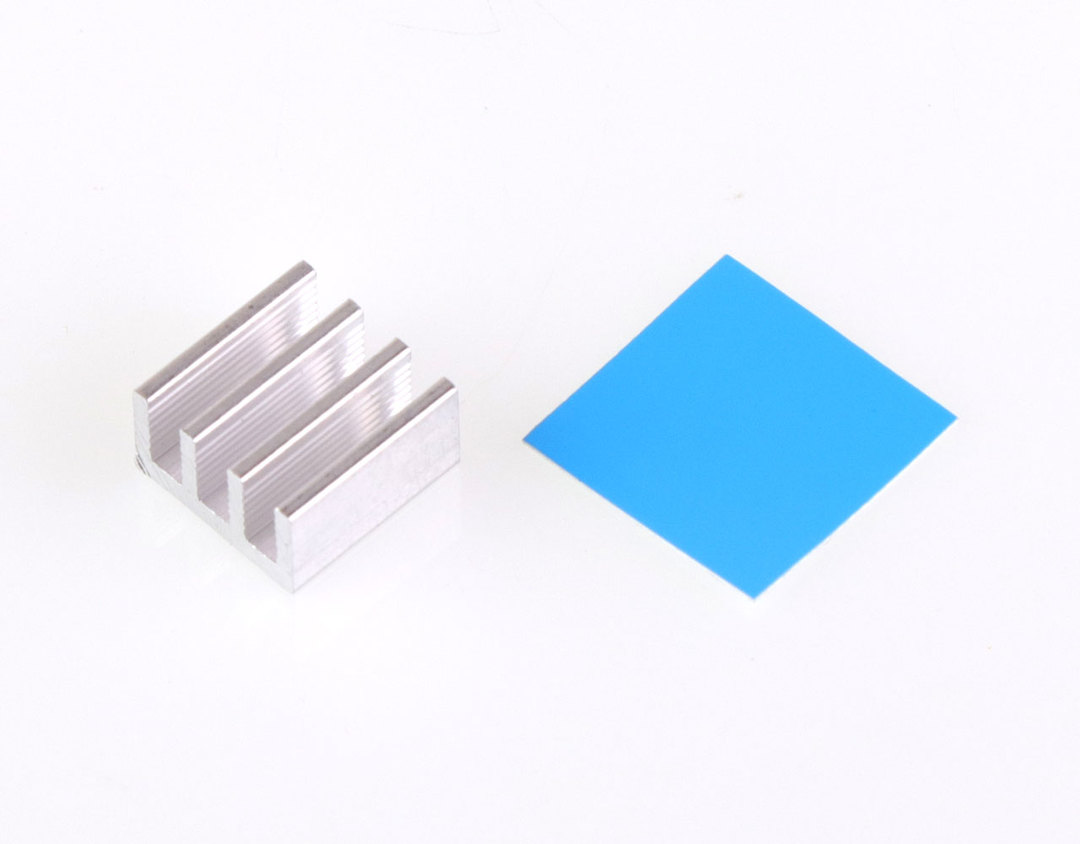14x14x8mm Aluminum Heat Sink Radiator