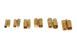 4mm Bullet Connectors - 1 Pair