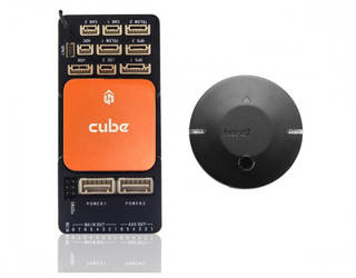 Cube Orange Here3 Combo (Pixhawk Orange & ADS-B Carrier Board)