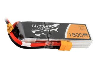 Tattu 1800mAh 75C 3S1P Lipo with XT60