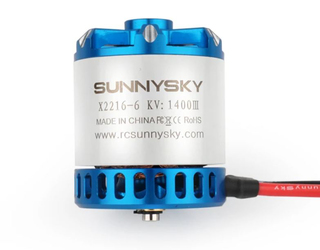 SunnySky X Series V3 X2216 V3 Short Shaft 1400KV