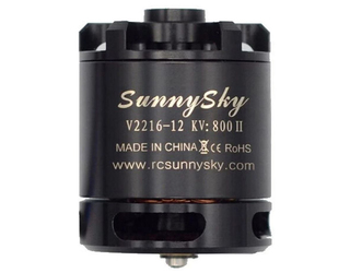 SunnySky X2216 Short Shaft - 2400KV VII
