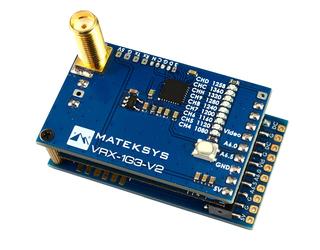 Matek 1.3GHz Video Receiver Module V2 for Fatshark Goggles