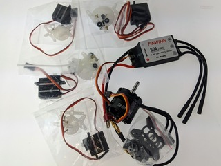 M2815 Motor, 60A ESC, 2x 17g, 2x 9g Servo - Power Package