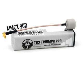 TBS Triumph Pro 5.8GHz Antenna MMCX 90 LHCP