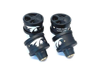 TrueRC Duality 2.4/5.8 Stubby Set of 4 for DJI HD - LHCP