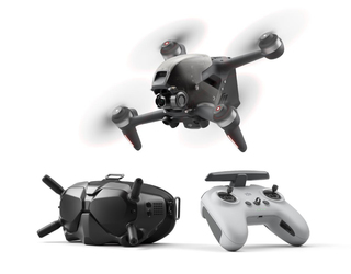 DJI FPV Drone Combo with HD Goggles and Remote