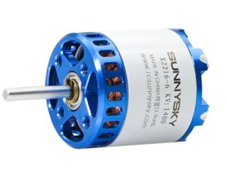 SunnySky X2216 V3 Brushless Motors Long Shaft Version 1250KV