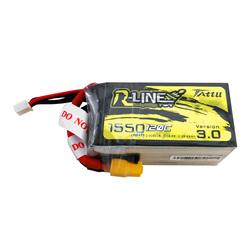Tattu R-Line V3.0 1550mAh 18.5V 120C 5S1P Lipo Battery XT60