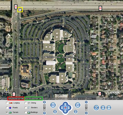 Satellite Imagery Target Locations, Google Earth | Satellite ...