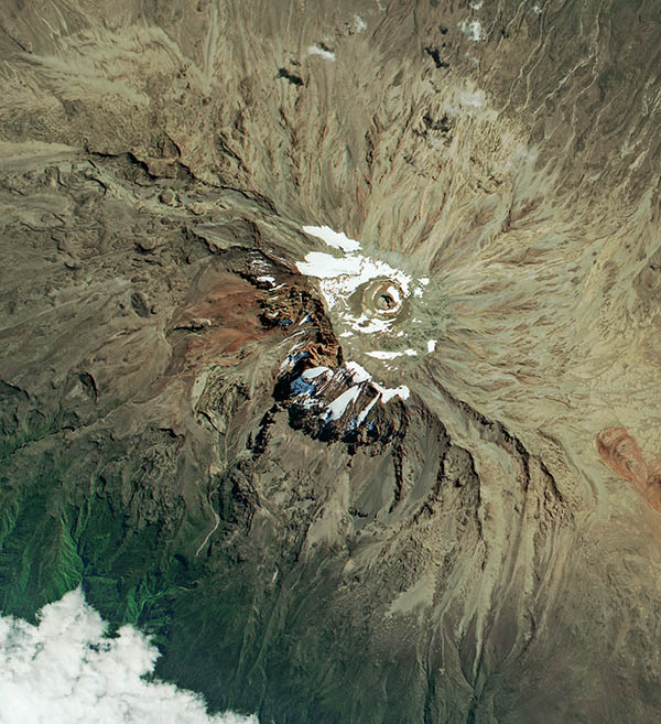 SPOT-7 Satellite Image of Kilimanjaro