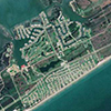 Sentinel-2A Satellite Image Galveston Texas
