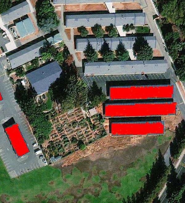 WorldView-3 Satellite Map San Jose Solar Panels | Satellite Imaging Corp