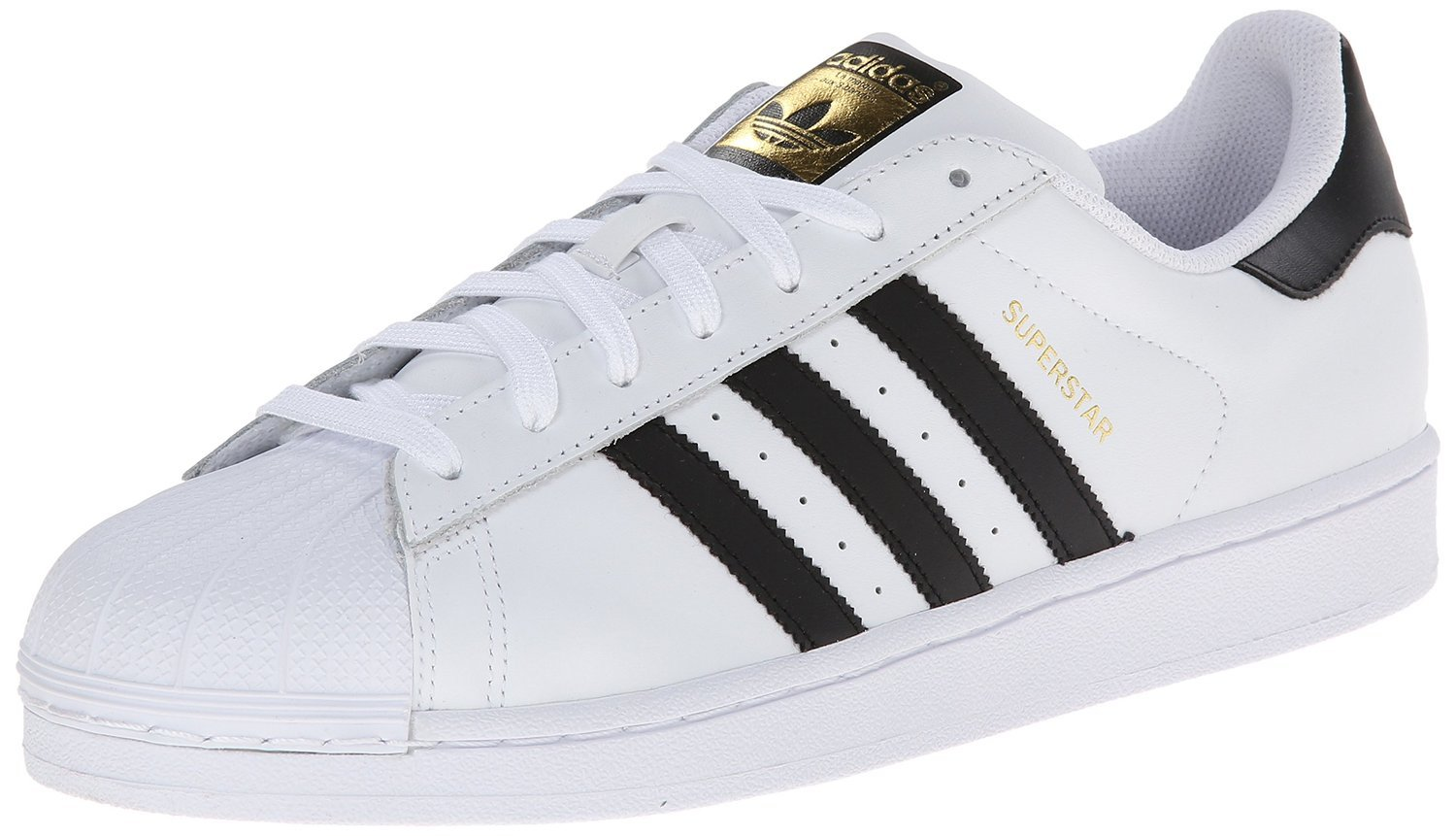 Adidas Kids Superstar J Sneakers White/Black C77154 | eBay