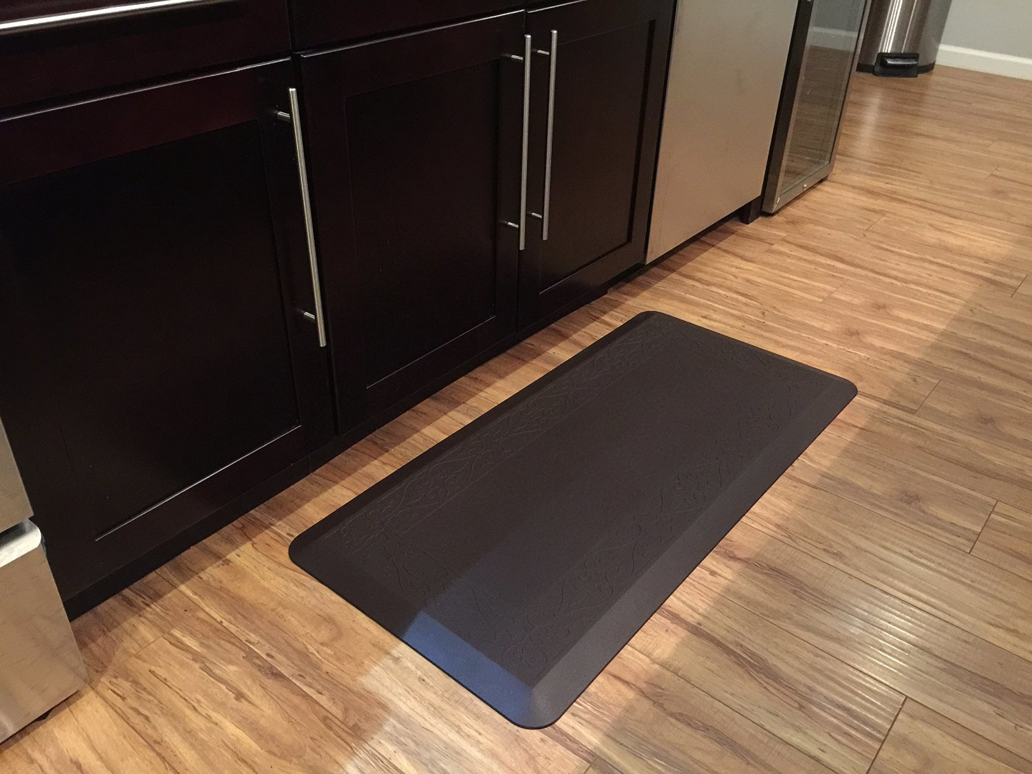 Novaform Anti Fatigue Kitchen Mat 20in X 42in Color: Dark