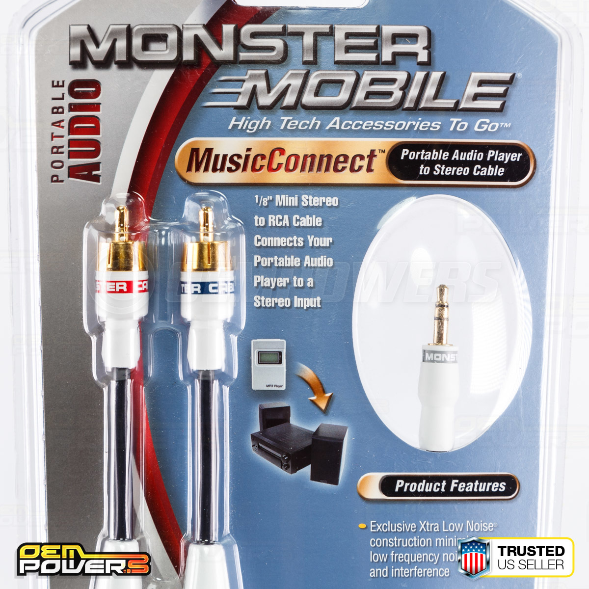 Monster Audio AUX 3.5mm 1/8\