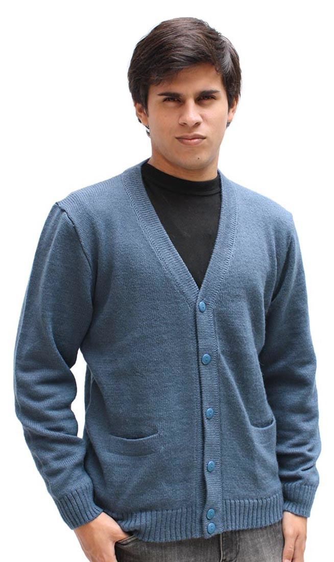 Mens Sweater Cardigan