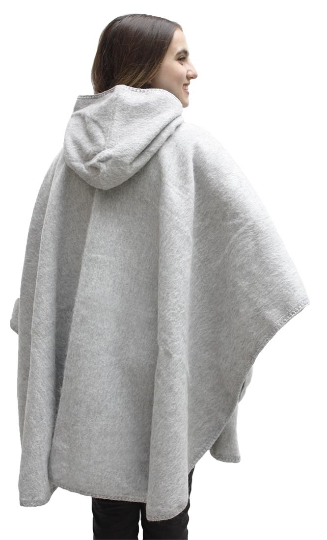Alpaca Hooded Wool Short Cloak Cape Ebay