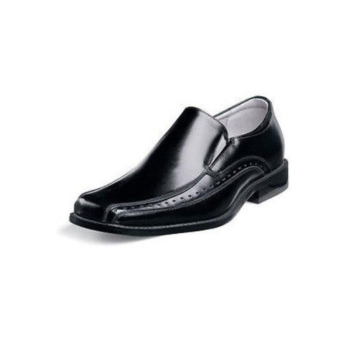 Stacy Adams Danton Youth Boys Black Slip On Dress Shoes Ebay