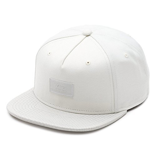 8344fbb439 VANS OFF THE Wall Men s Bolin Snapback Hat Cap - Antique White ...