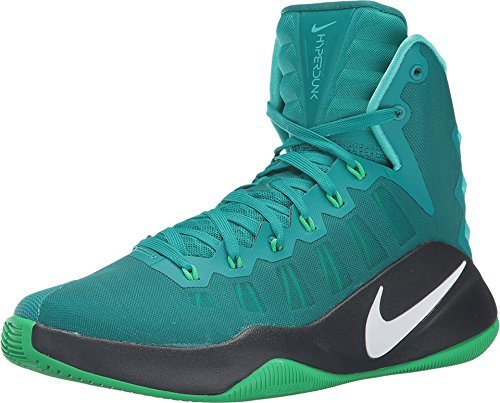 Nike Hyperdunk  Basketball Shoe Rio Teal White