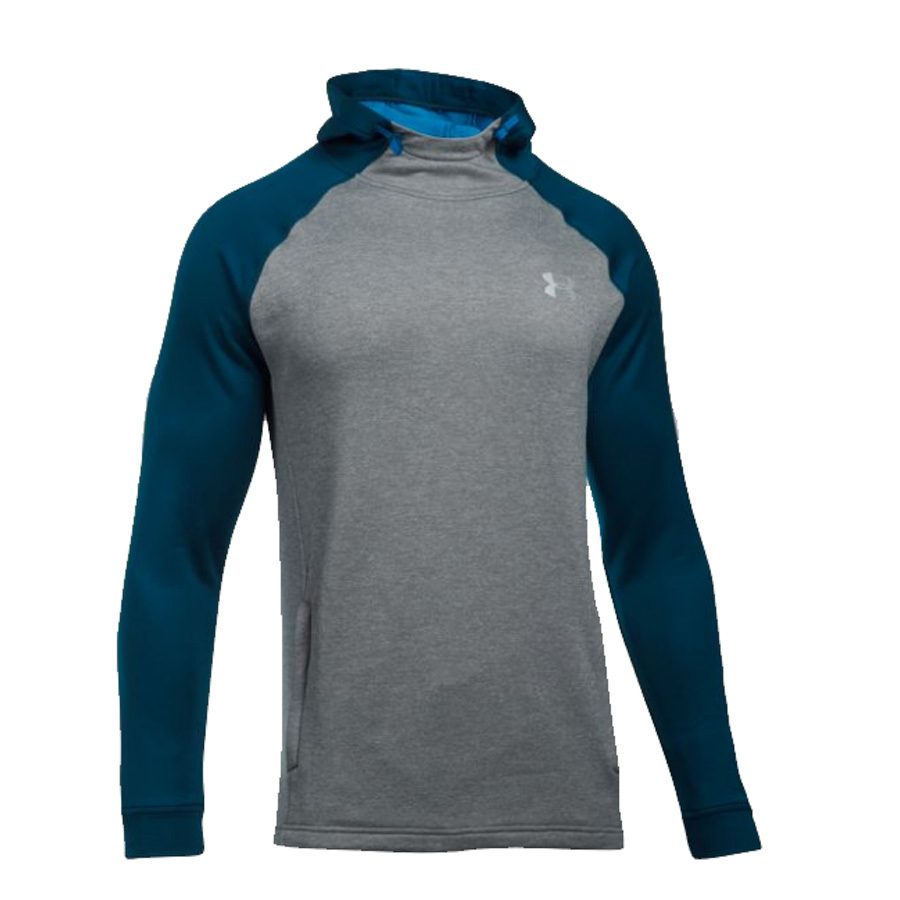 pullover under armour popover sweater terry tech hooded athletic mens
