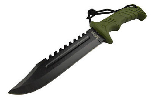 13 Quot Tactical Survival Rambo Hunting Fixed Blade Knife Army