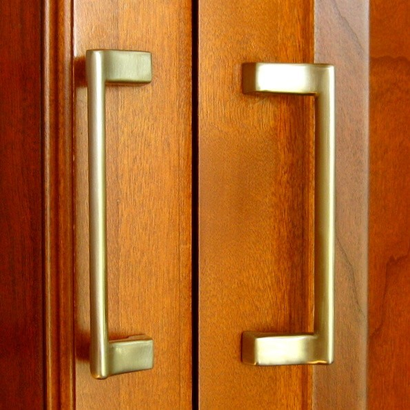Polished Nickel Hickory P6096 14 Offset Cabinet Pull
